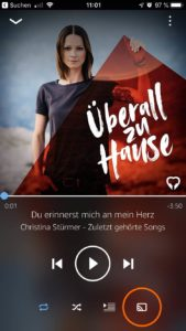Amazon Music Streaming zu Amazon Echo
