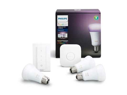 Philips Hue White and Color Starterset E27